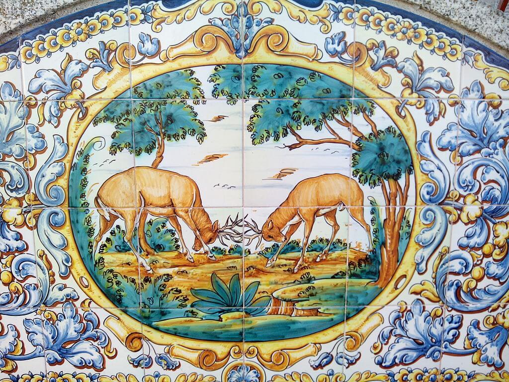 Ejemplo de cerámica de El Puente del Arzobispo