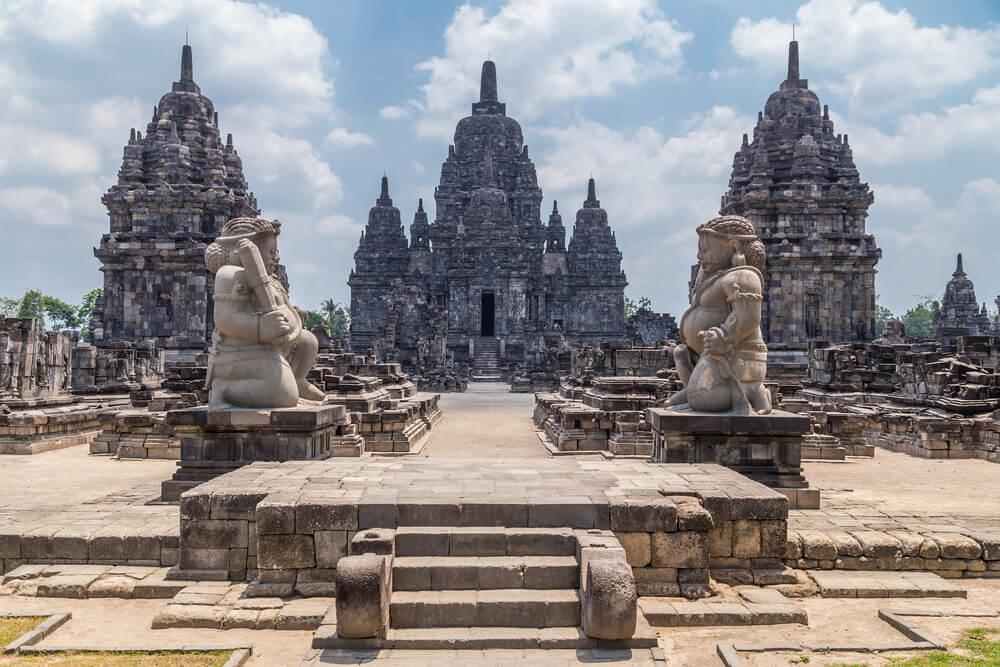 Templos en Prambanan