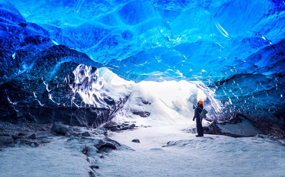 Cueva en Skaftafell