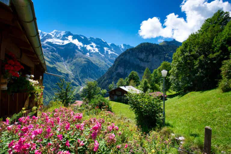 Gimmelwald: un pueblo lleno de encanto en Suiza