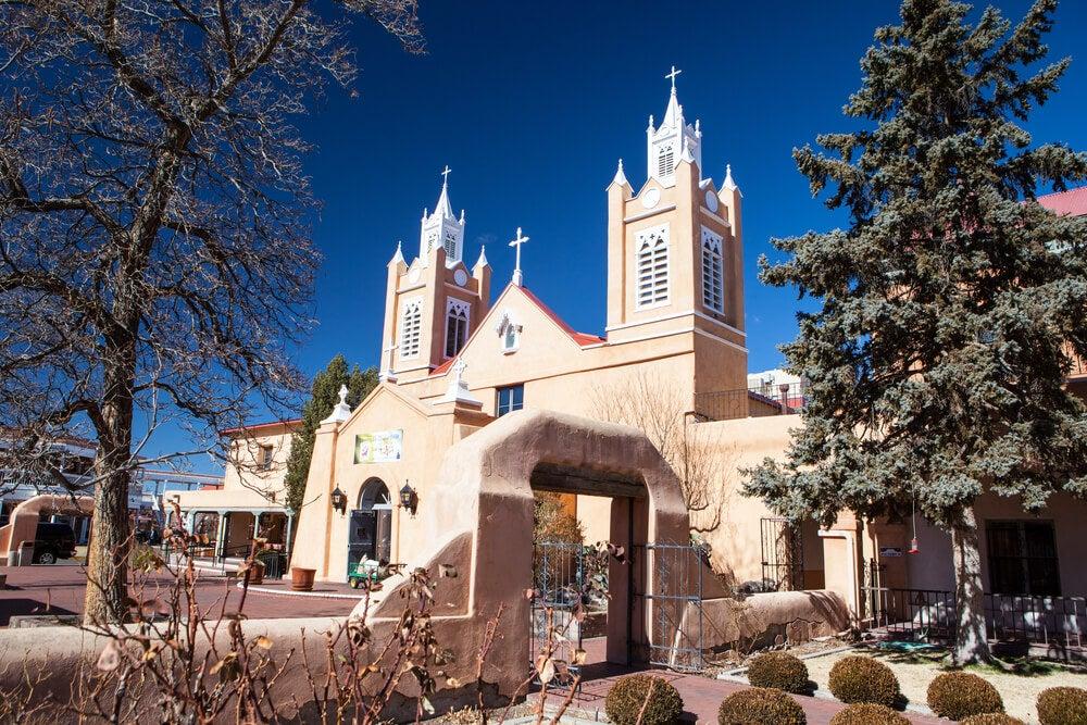 Iglesia de San Felipe Neri en Albuquerque