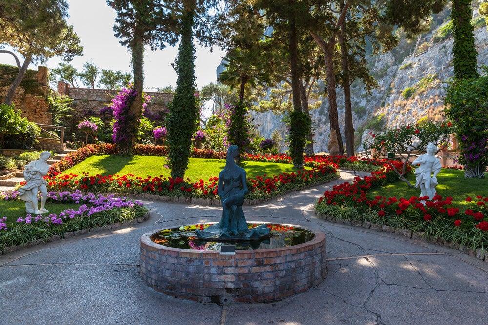 Jardines de Augusto en Capri