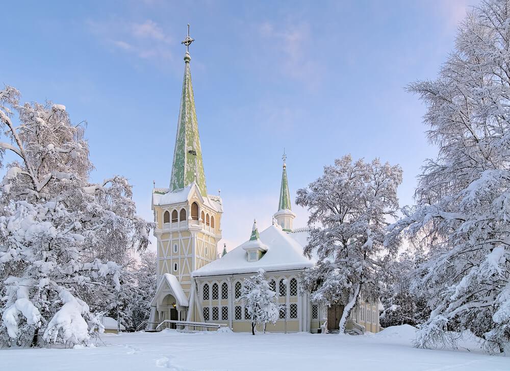 Una ruta por la increíble Laponia sueca