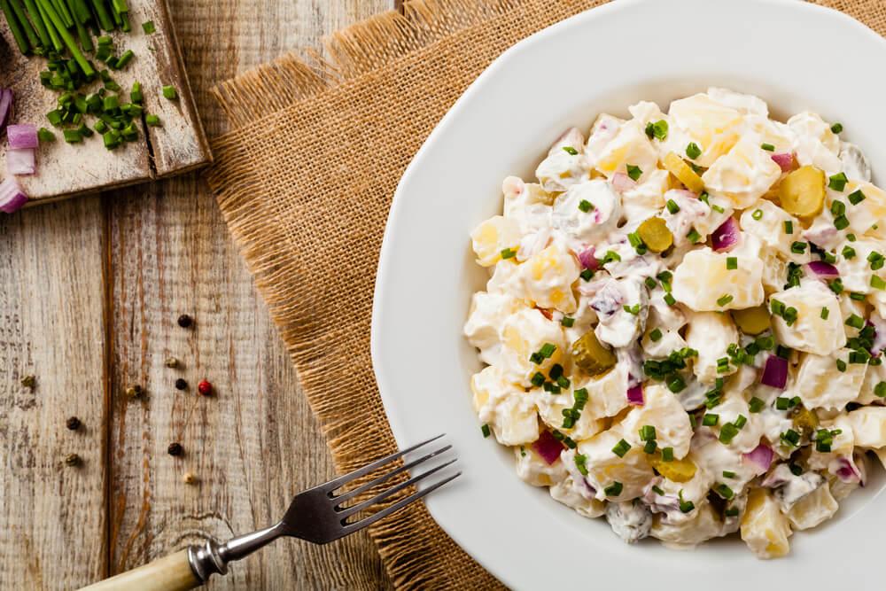 Kartoffelsalat, uno de los platos tradicionales de Alemania