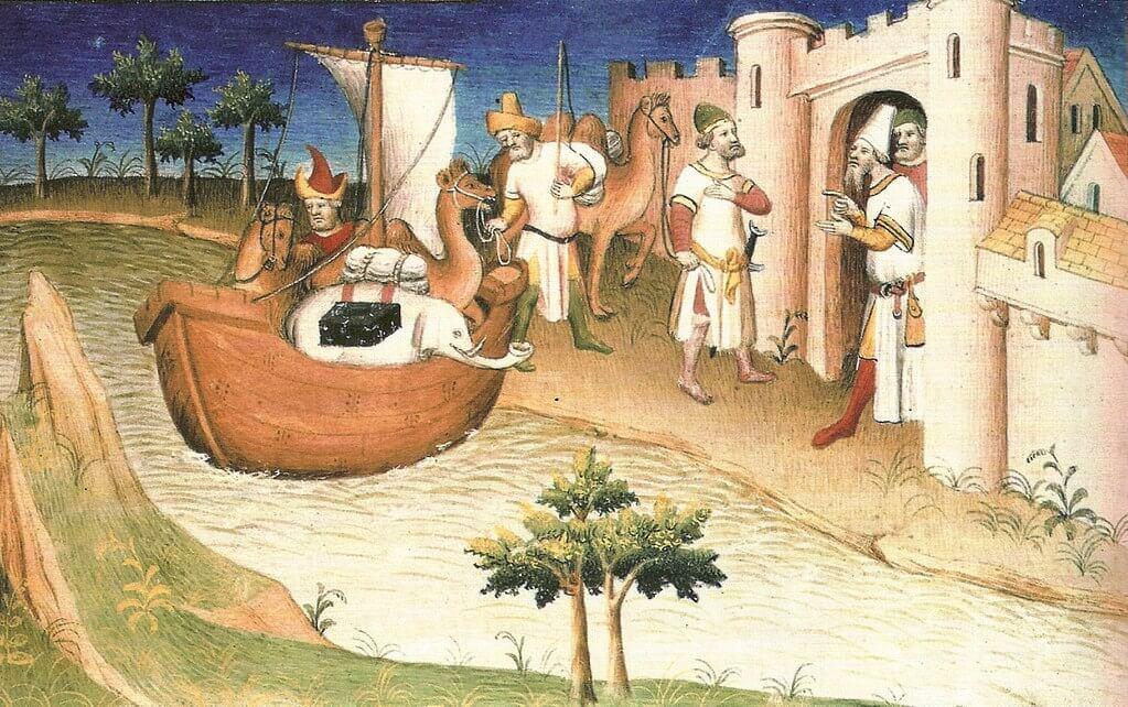 Imagen del libro de Marco Polo