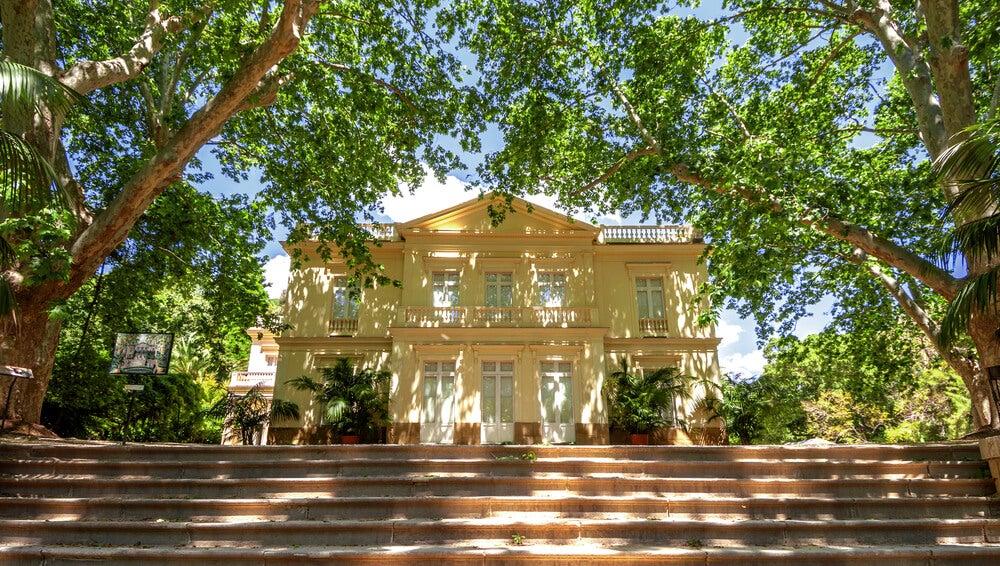 Casa en el botánico de Málaga
