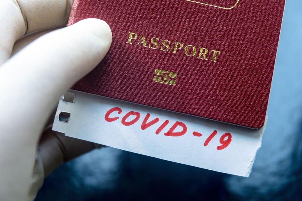 Pasaporte ante elcierre de fronteras por coronavirus
