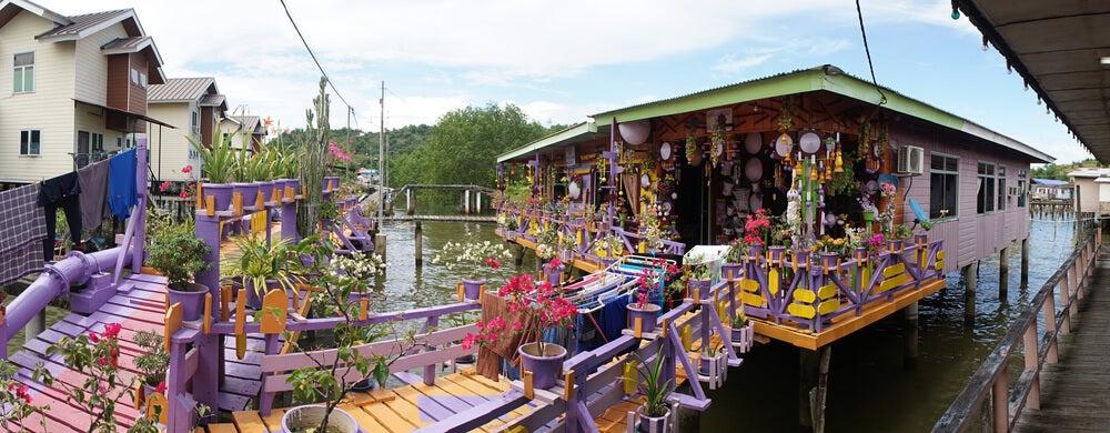 Pasarela en Kampong Ayer