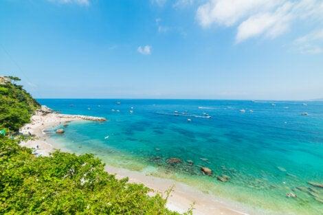 Playa en Capri