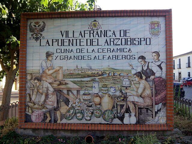 La cerámica de El Puente del Arzobispo: arte y tradición