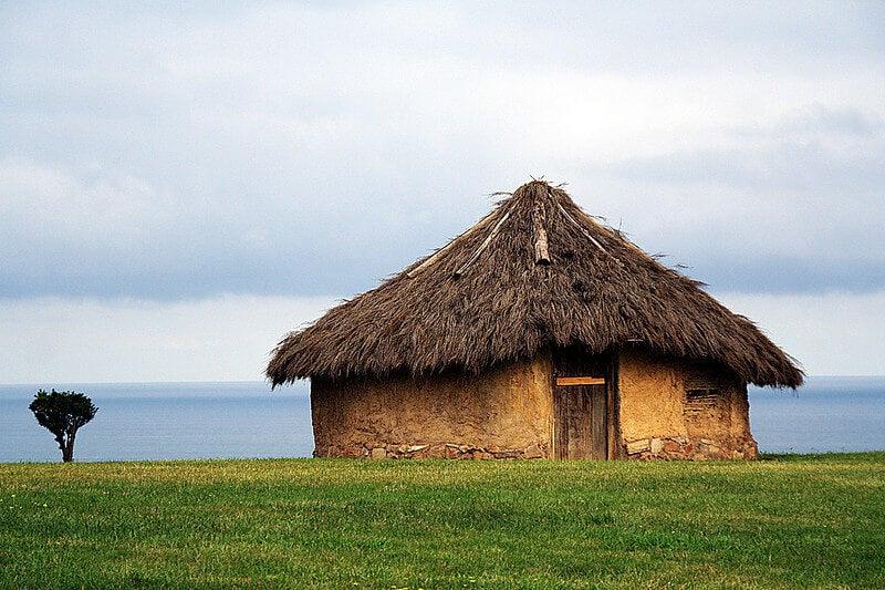 Reproducción de una casa en Campa Torres