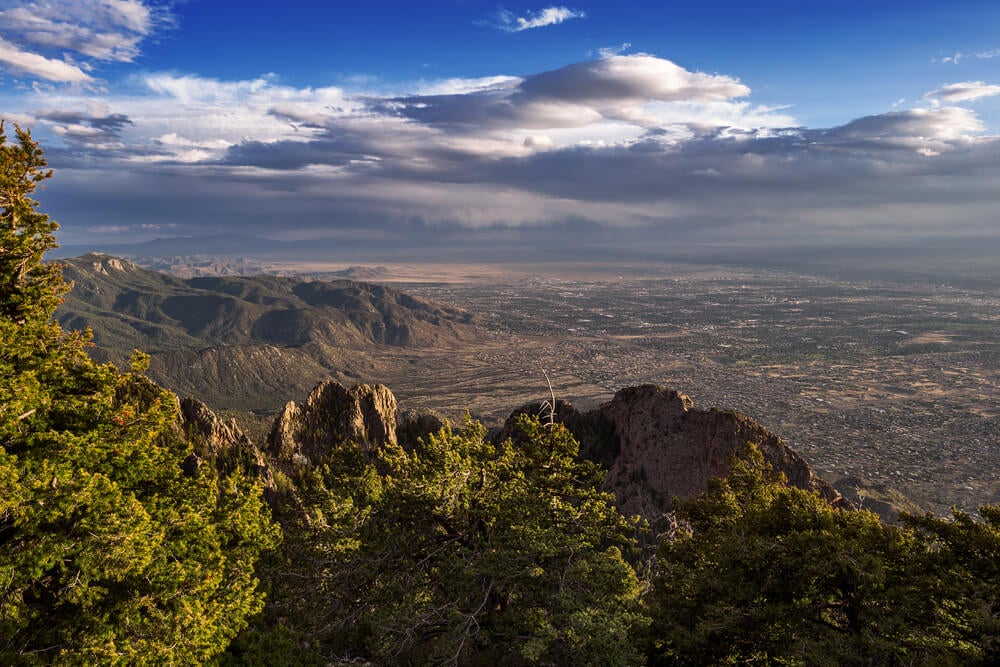Vista desde Sandía Peak