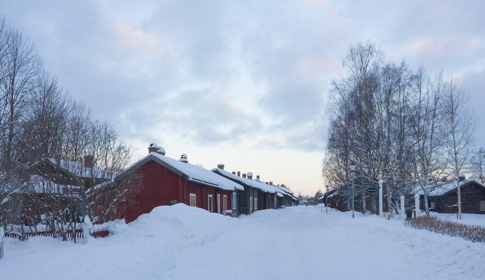 Skelleftea en la Laponia Sueca