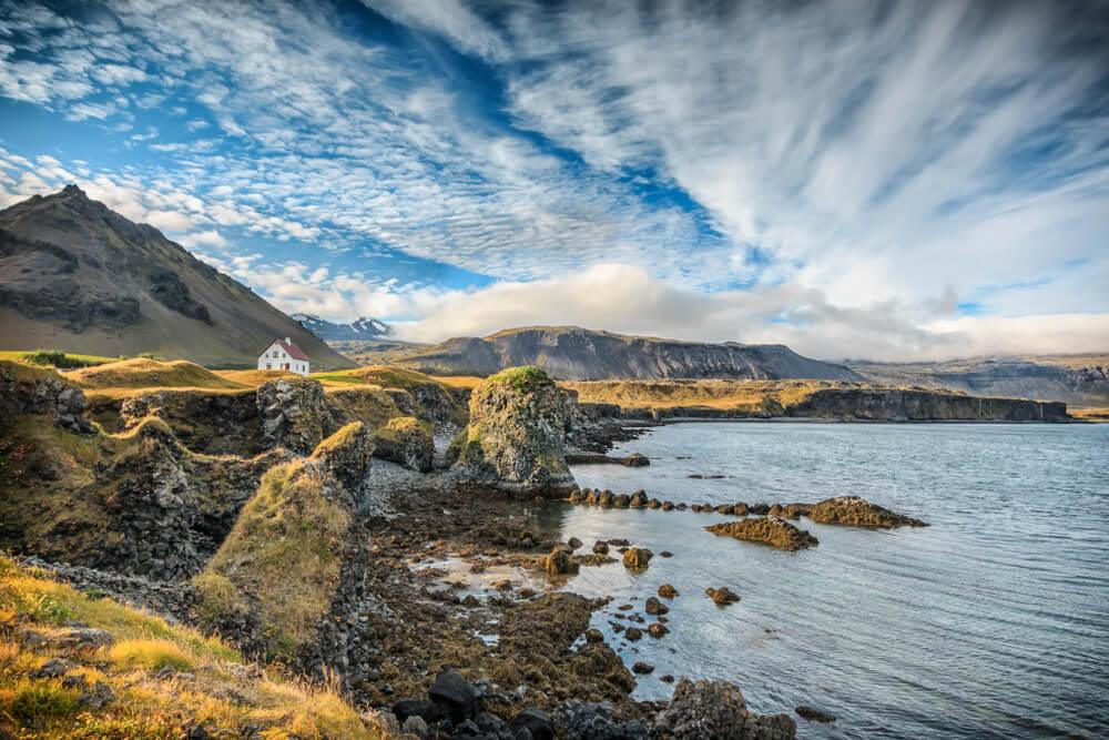Vista del Parque Nacional Snaefellsjökull