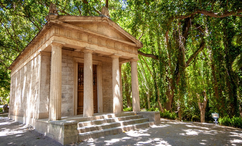 Templete del botánico de Málaga