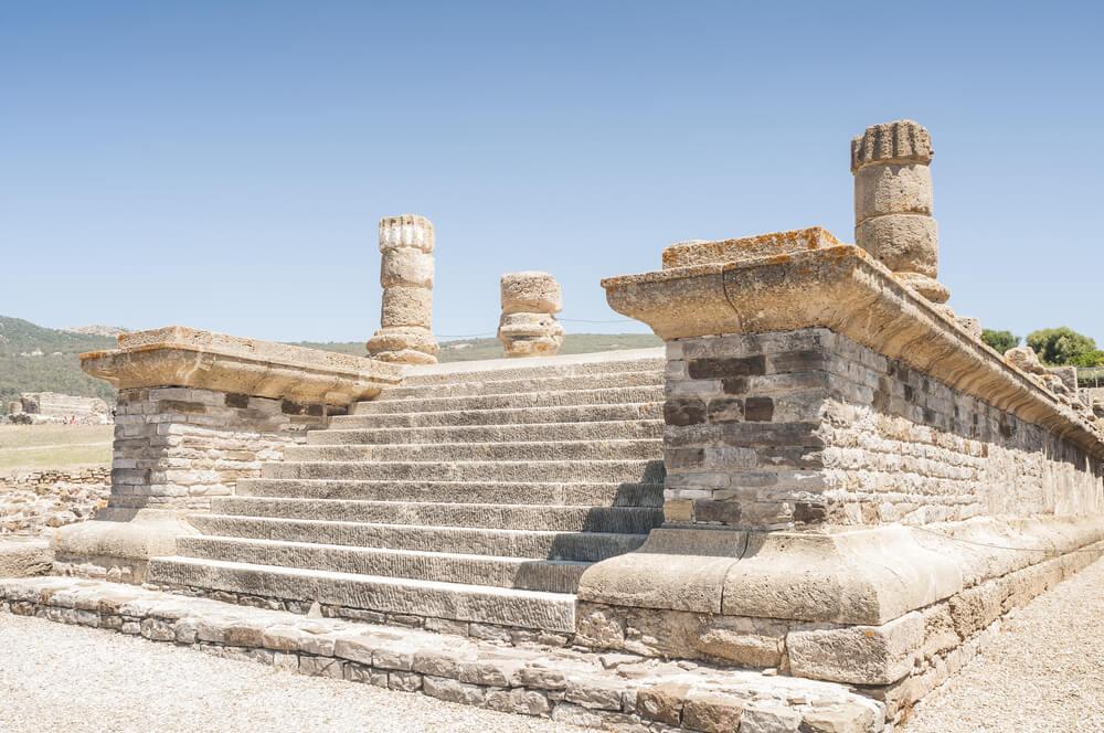 Templo en Baelo Claudia