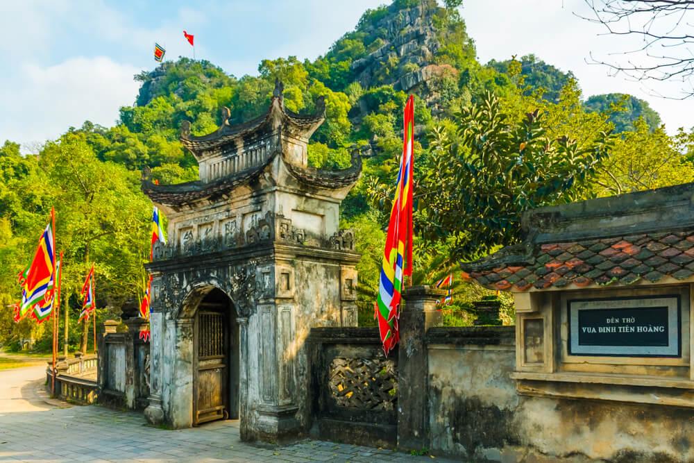 Templo Dinh Tien Hoang en Hoa Lu