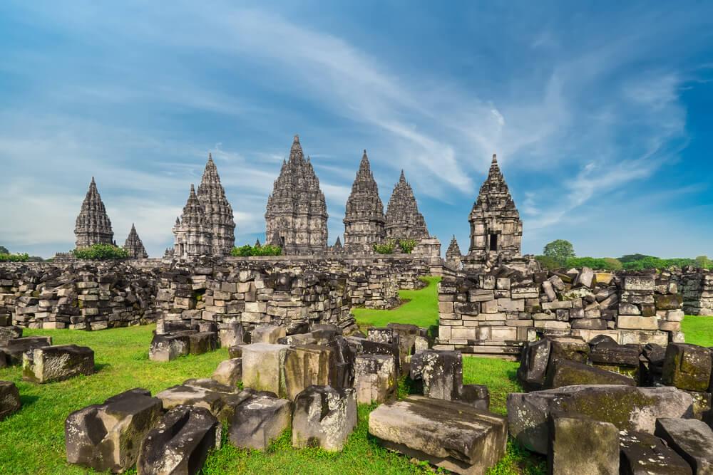 Los templos de Prambanan en Indonesia