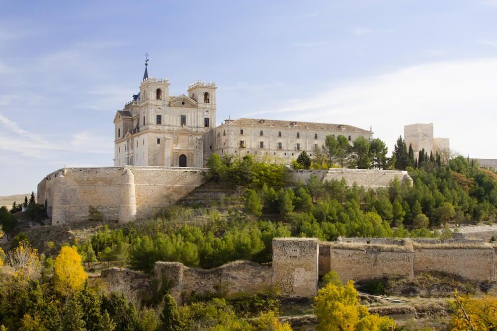 Vista del Monasterio de Uclés.