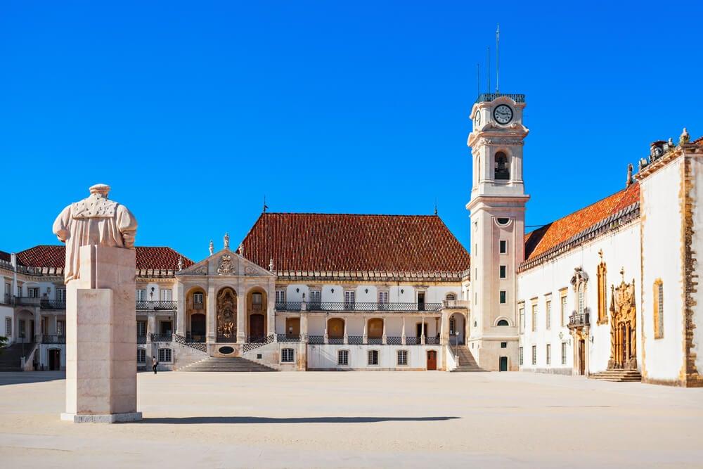 La Universidad de Coímbra, una de las más antiguas de Europa