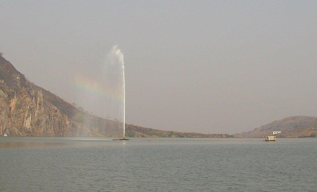 Sistema de ventilación del lago