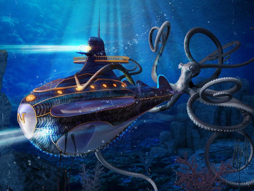 Recreación de los viajes de Julio Verne