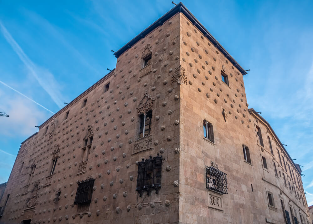 Biblioteca de la Casa de las Conchas en Salamanca.