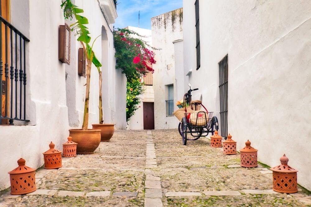 Calle de Vejer de la Frontera en Cádiz