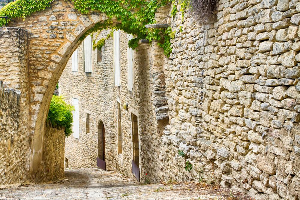 Calles de Gordes, en la Provenza francesa.