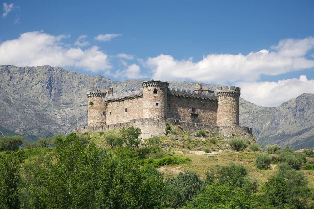 Castillo de Mombeltrán, capital de las Cinco Villas de Ávila