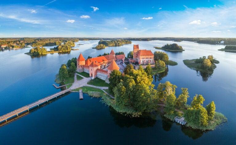Castillo de Trakai: uno de los tesoros de Lituania