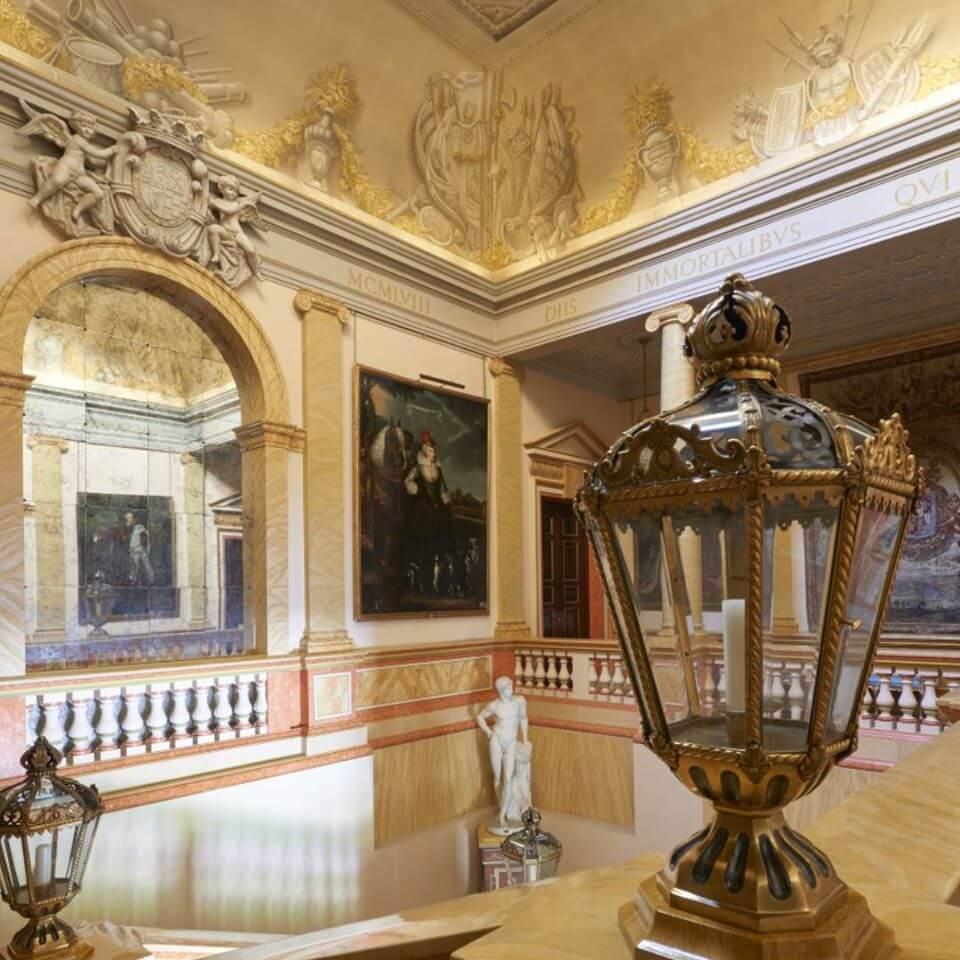 Escalera principal del Palacio de Liria.