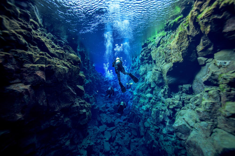 Fisura de Silfra en Islandia: un lugar perfecto para el buceo