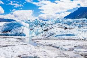 Vista de un glaciar en Alaska.