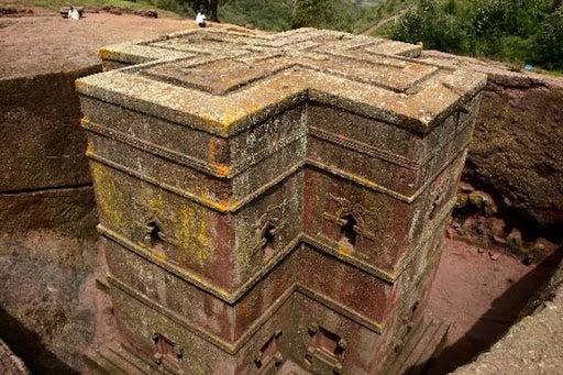 Las Iglesias de Lalibela, en Etiopía.