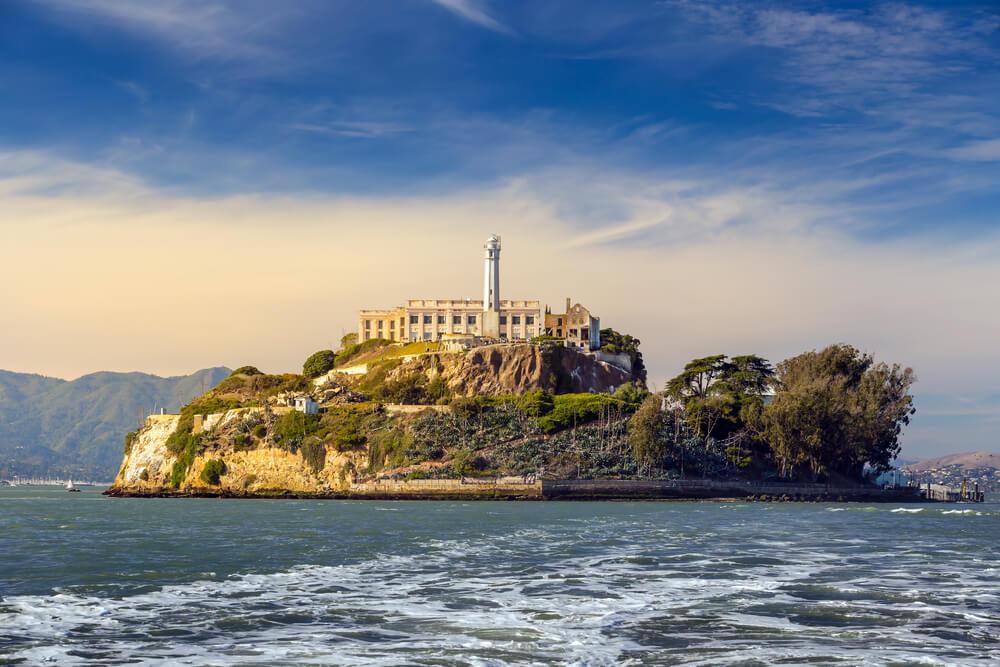Isla de Alcatraz, escenario de cine en San Francisco