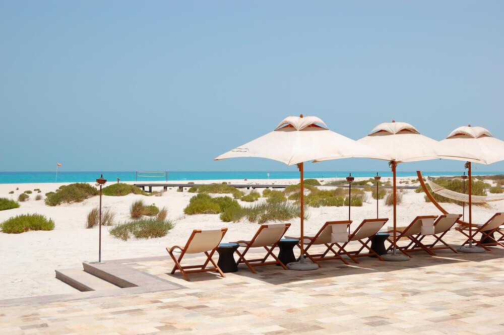 La Isla Saadiyat en los Emiratos Árabes Unidos.