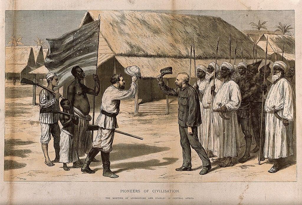 Encuentro entre Livingstone y Morton
