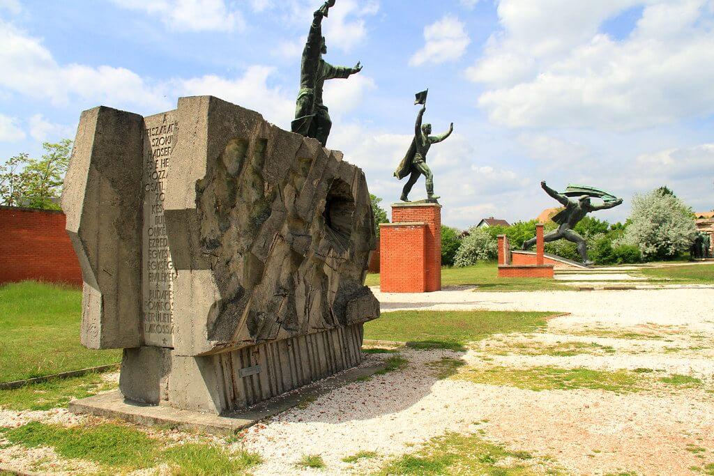 El fabuloso Parque de la Memoria en Budapest
