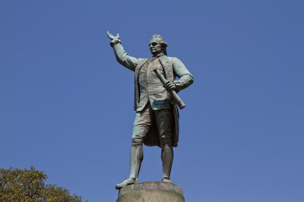 El navegante James Cook y los mares del Sur