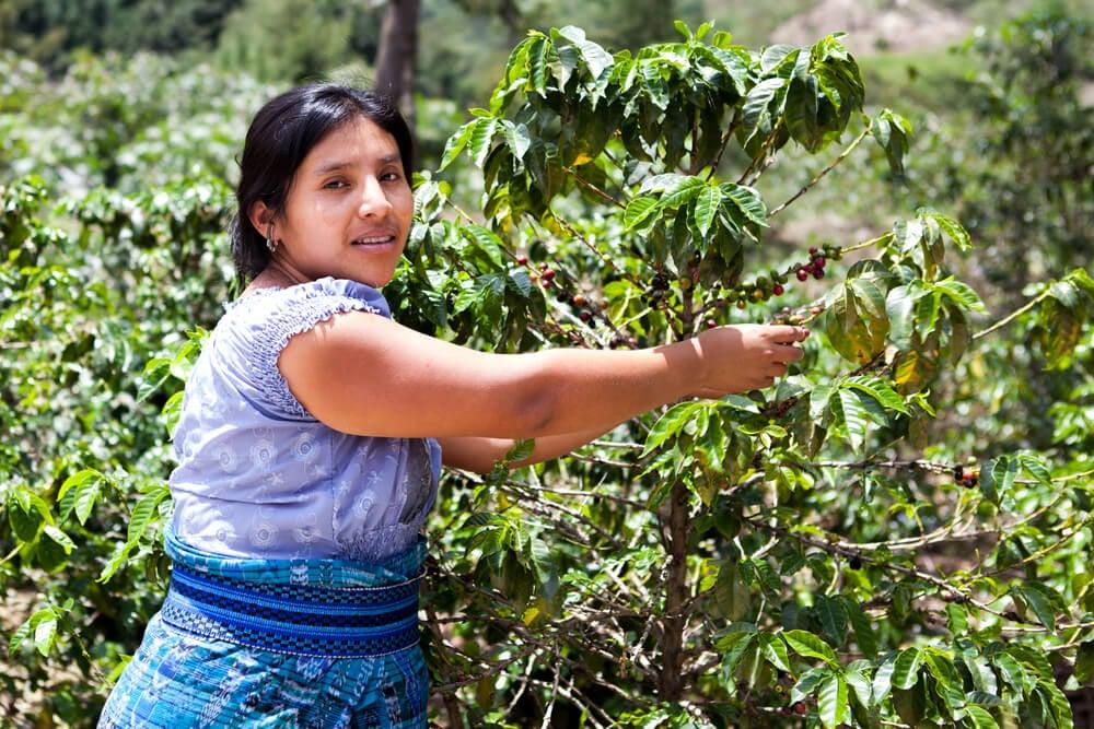 Mujer indígena de Costa Rica.
