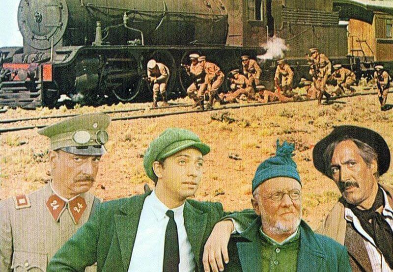 Afiche de la Patagonia Rebelde, película sobre una movilización obrera en la Patagonia.