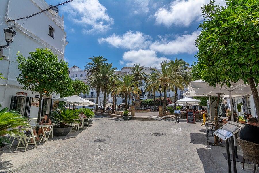 Plaza en Vejer de la Fontera
