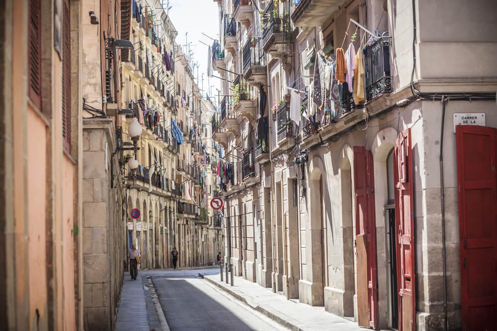 Barrio del Raval, escenario de películas de Barcelona