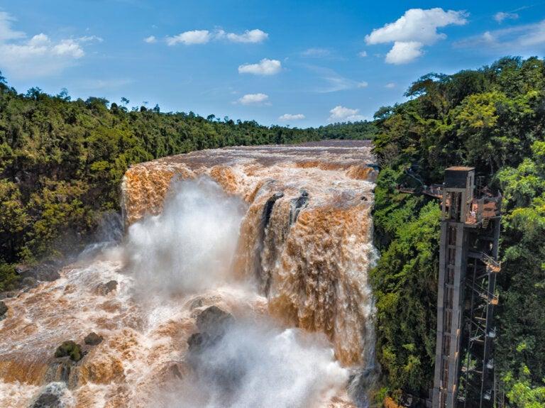 Los Saltos del Monday, una de las joyas del Alto Paraná