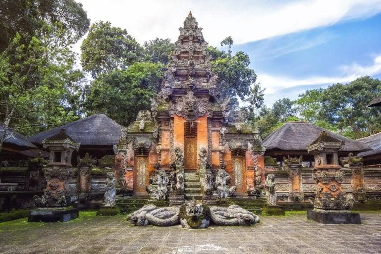 El santuario sagrado del Bosque de los Monos