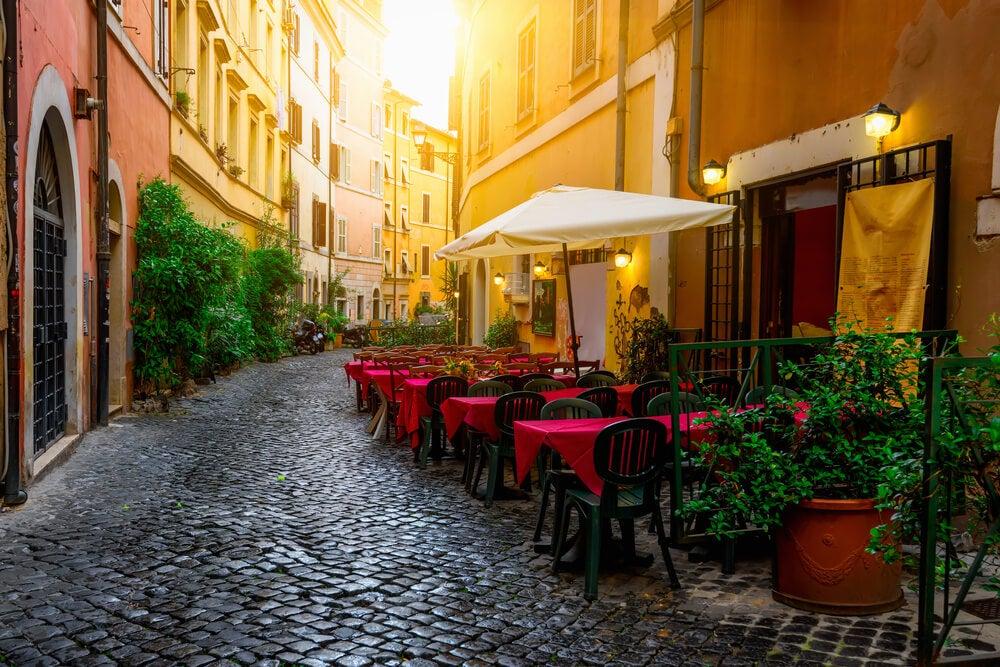 Calle del Trastévere para descubrir Roma