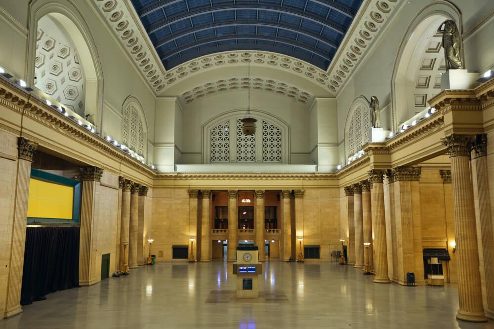 Union Station es una de las estaciones de tren más famosas del mundo.