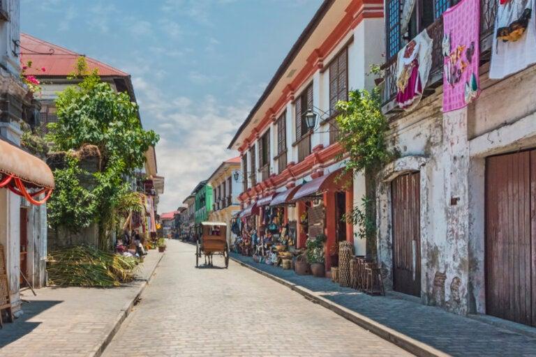Vigan, una ciudad de estilo colonial en Filipinas