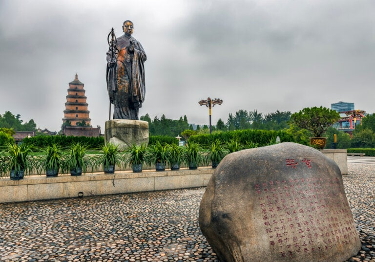 El impresionante peregrinaje de Xuanzang